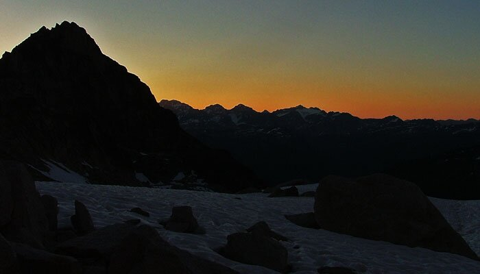 Complete Mountaineering Sunset